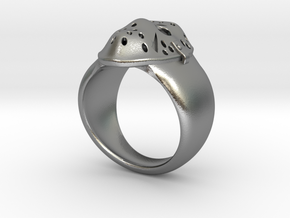 Jason´s Ring 21mm in Natural Silver