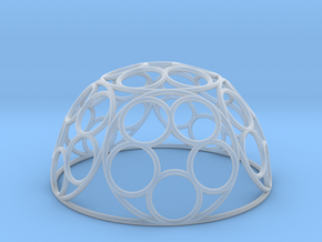 Ring Dome in Smooth Fine Detail Plastic