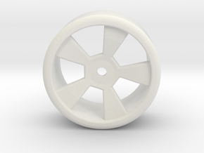Rc Drift Wheel 2 in White Natural Versatile Plastic