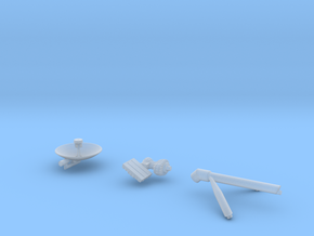09-S Band Antenna in Smooth Fine Detail Plastic