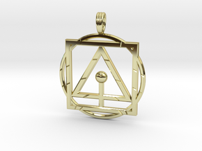 PRIMAL SUBSTANCE in 18K Gold Plated