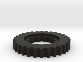 Crank Pulley 2.0 in Black Strong & Flexible
