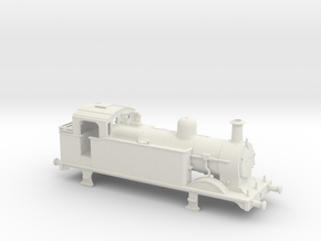 Ex Midland Rly 3F shunting engine in White Natural Versatile Plastic