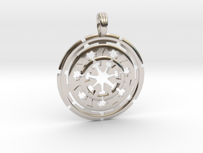 CHAKRA ENERGY in Rhodium Plated
