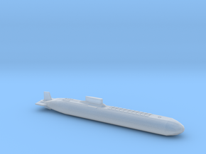 Typhoon Class Sub, Full Hull, 1/2400 in Smooth Fine Detail Plastic