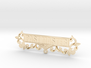 Past Master Jewel Name Plate in 14K Yellow Gold