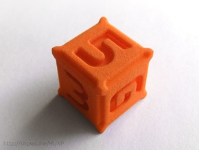 BattleTech Dice - D6 Plastic in Orange Strong & Flexible Polished