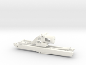 1/50th 20 ton Truck Crane in White Processed Versatile Plastic