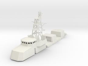 1/96 scale Cyclone Class Coastal Patrol Structure  in White Natural Versatile Plastic: 1:96