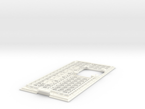 A1200 Expansion CPU RAM Cover - 68060 in White Processed Versatile Plastic