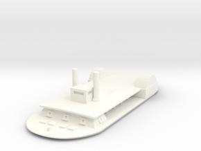 1/600 USS Tuscumbia  in White Processed Versatile Plastic