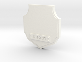 Ghost Hunter Trophy in White Processed Versatile Plastic