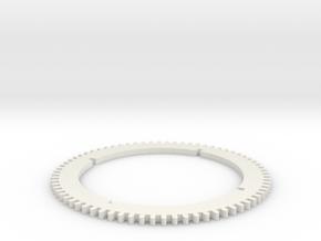 TUW14875 KAMP3799 Radband in White Natural Versatile Plastic