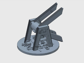 YT1300 MPC RADAR 44 MM MOUNT ANH in Smooth Fine Detail Plastic