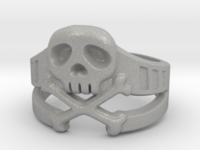 Space Captain Harlock | Ring Size 8 in Aluminum: 8 / 56.75