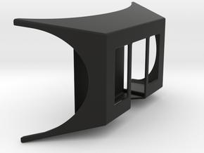 Stereo Enhancing Googles in Black Natural Versatile Plastic
