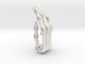 3DPrintHand 05 3D 07 Whole in White Natural Versatile Plastic