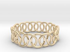 Ring Bracelet 75 in 14K Yellow Gold