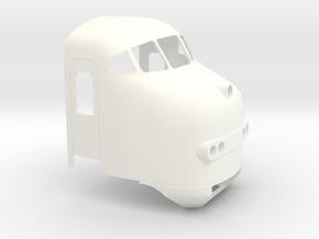 Plan U (1:45) in White Processed Versatile Plastic