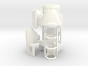 DSC Cargo Ships - Basic in White Processed Versatile Plastic