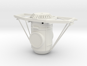 Orbital Docking System Main Body And Frame in White Strong & Flexible