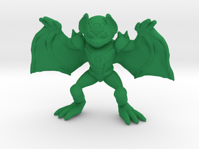 Desmodian Warrior in Green Processed Versatile Plastic