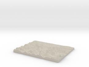 Model of Lechaschau in Sandstone