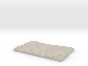 Model of Klause in Natural Sandstone