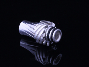 Turbo Driptip Heat Sink in Natural Silver