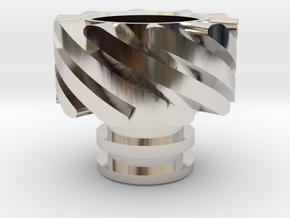 Turbo Driptip Heat Sink in Platinum