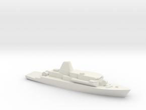 Avenger 1/3000 in White Natural Versatile Plastic