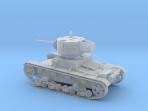 VBS Light tank T26 1933 1:72  in Smooth Fine Detail Plastic