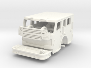 Rosenbauer 1/64 Flat Roof Cab in White Strong & Flexible Polished
