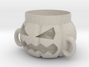 Halloween Pumpkin Corsair in Natural Sandstone