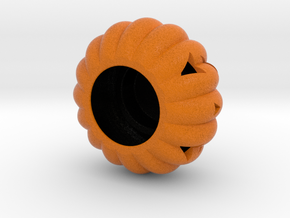 Pumpkin Tealight Holder in Full Color Sandstone