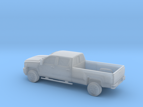 1/56 2015 Chevrolet Silverado Long Bed in Smooth Fine Detail Plastic