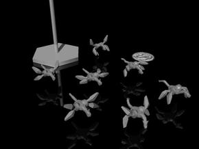 Fleetscale Dragon Mechs in Smooth Fine Detail Plastic