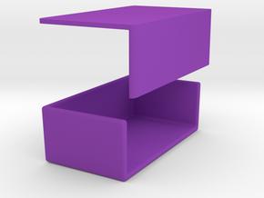 2 Sticks Butterdish in Purple Processed Versatile Plastic