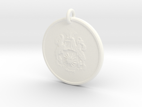 Medallion Presto in White Processed Versatile Plastic