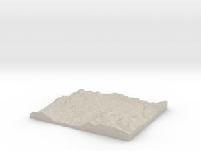 Model of Arranmore in Natural Sandstone
