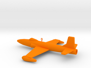 F-80 Ornament in Orange Processed Versatile Plastic