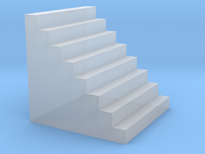 N Scale Staircase in Smooth Fine Detail Plastic