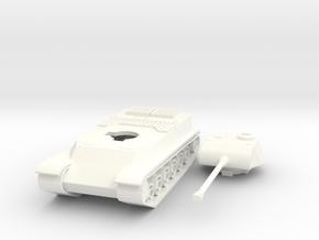 Hungarian Heavy Tank Tas 44m  in White Processed Versatile Plastic