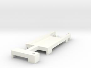 DNA200 Screen Holder V2 in White Processed Versatile Plastic