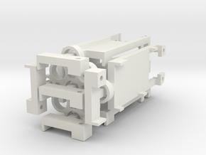DNA200 Screen Holder V2 5-Pack in White Strong & Flexible