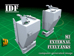IDF M2 External Fueltanks (1:35) in Smooth Fine Detail Plastic