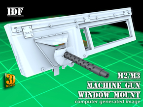 IDF 30cal MG-Window mount (1:35) in Smooth Fine Detail Plastic