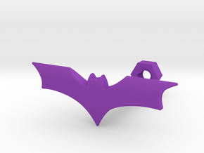 Bat in Purple Processed Versatile Plastic