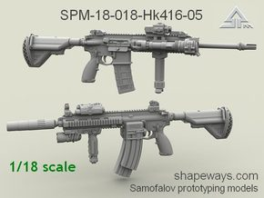 1/18 SPM-18-018-Hk416-05 H&K416 Variant V in Smoothest Fine Detail Plastic