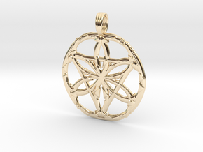SILENT NIGHT in 14K Yellow Gold